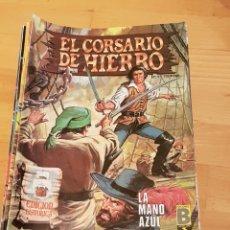 Cómics: EL CORSARIO DE HIERRO.COLECCION COMPLETA DE 58 NUMEROS A FALTA DE 1.EDICIONES B.. Lote 133677781