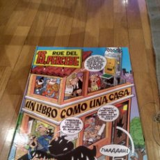 Cómics: LIBRO GIGANTE 13 RUE DEL PERCEBE,TBO,TAPA DURA,DESPLEGABLE,CASA 46,5X35CM. Lote 133695558