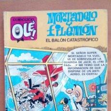 Cómics: MORTADELO Y FILEMÓN. EL BALÓN CATASTRÓFICO.. Lote 133793426