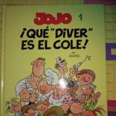 Cómics: JOJO, QUE DIVER ES EL COLE . Lote 133907682