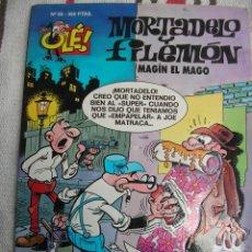 Cómics: MORTADELO Y FILEMON N 55: MAGIN EL MAGO; 1ª EDICION PORTADA EN RELIEVE; . Lote 133990050