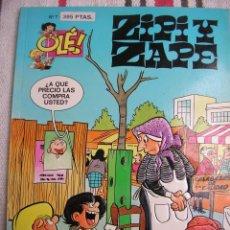 Cómics: ZIPI Y ZAPE Nº 7: LA SABANA 1ª EDICION PORTADA EN RELIEVE; . Lote 133990398