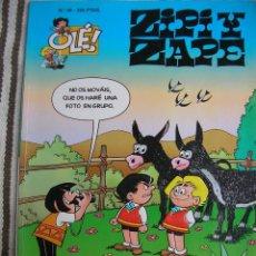Cómics: ZIPI Y ZAPE Nº 48: ROBO EN LA ESCUELA 1ª EDICION PORTADA EN RELIEVE; . Lote 133990554