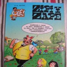 Cómics: ZIPI Y ZAPE Nº 46: LA REBELION: 1ª EDICION PORTADA EN RELIEVE; . Lote 133990850