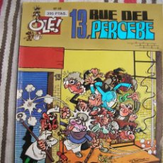 Cómics: 13 RUE DEL PERCEBE Nº 40:: 1ª EDICION PORTADA EN RELIEVE;. Lote 133991830