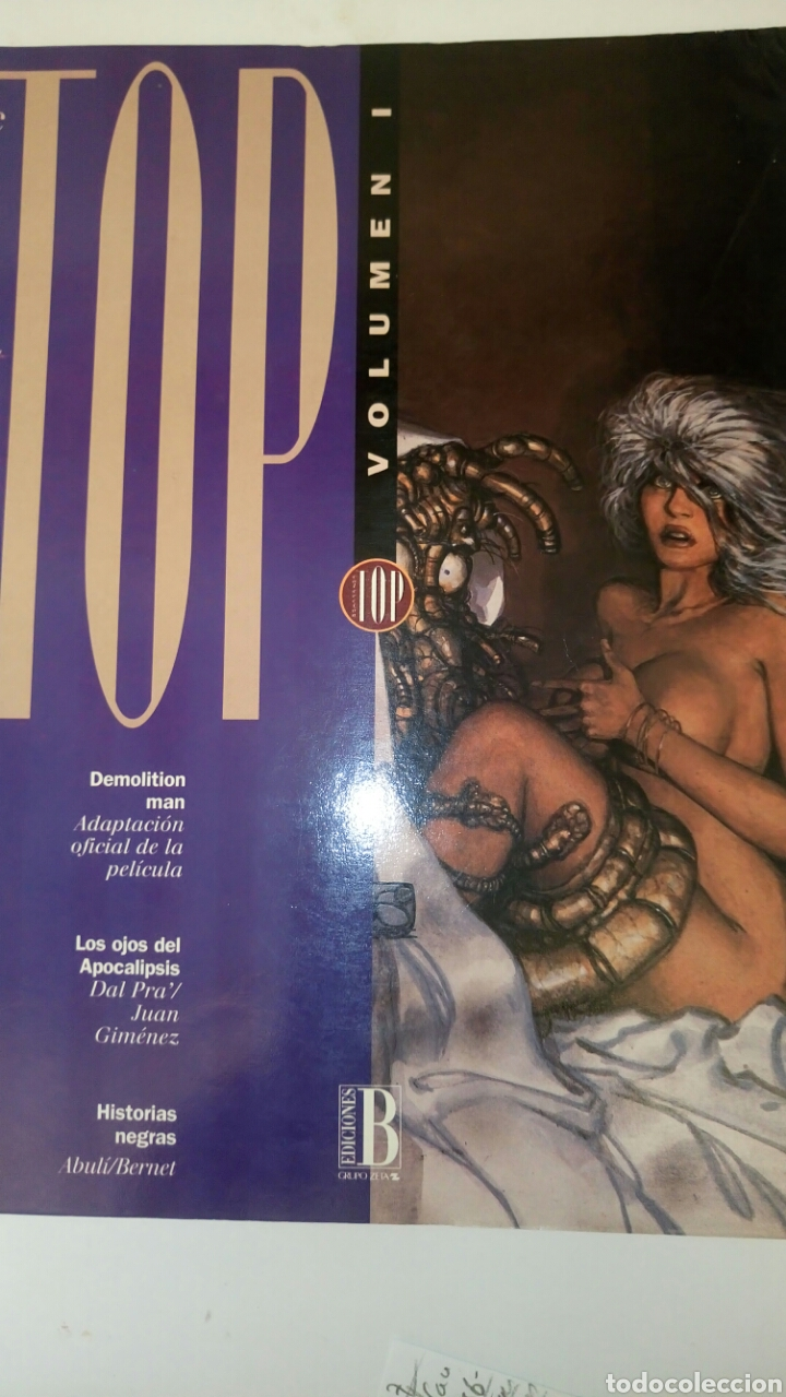TOP CÓMICS, VOL. 1, DE EDICIONES B, CONTIENE 1, 2 Y 3. (Tebeos y Comics - Ediciones B - Otros)