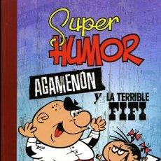 Cómics: SUPER HUMOR CLASICOS Nº 6 AGAMENON Y LA TERRIBLE FIFI - EDICIONES B - CARTONE - IMPECABLE - OFI15. Lote 134103562