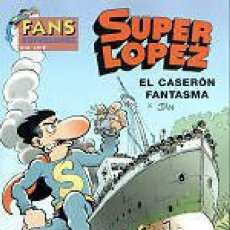 Cómics: FANS SUPERLOPEZ Nº 38 EL CASERON FANTASMA - EDICIONES B - IMPECABLE - OFI15. Lote 134104770