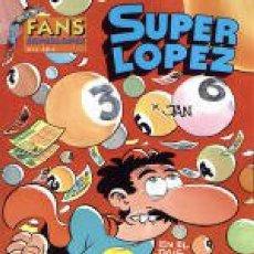 Cómics: FANS SUPERLOPEZ Nº 12 EN EL PAIS DE LOS JUEGOS EL TUERTO ES EL REY - EDICIONES B - IMPECABLE - OFI15. Lote 134107682