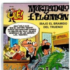 Cómics: OLÉ! MORTADELO Nº 176. -CAPITÁN TRUENO- 1ª EDICIÓN,2007. EDICIONES B.. Lote 134119266