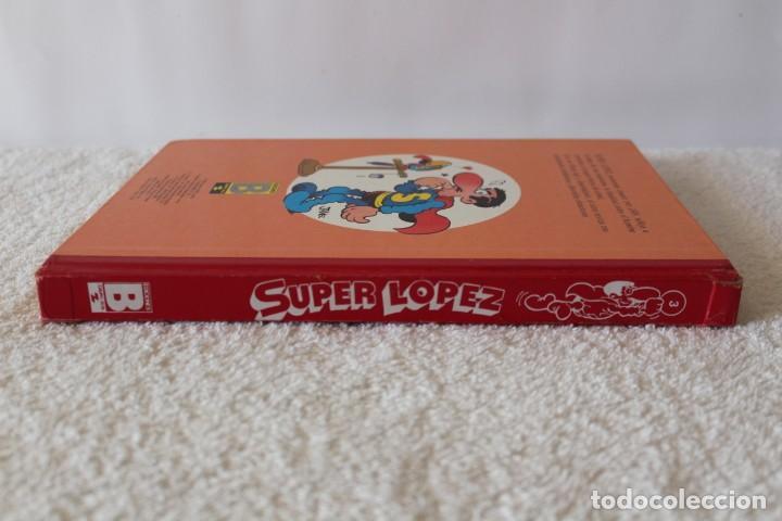 Cómics: SUPER LOPEZ de JAN. TOMO 3 - EDICIONES B PRIMERA EDICION 1989 - Foto 6 - 134223490