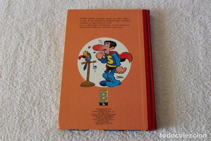 Cómics: SUPER LOPEZ de JAN. TOMO 3 - EDICIONES B PRIMERA EDICION 1989 - Foto 7 - 134223490