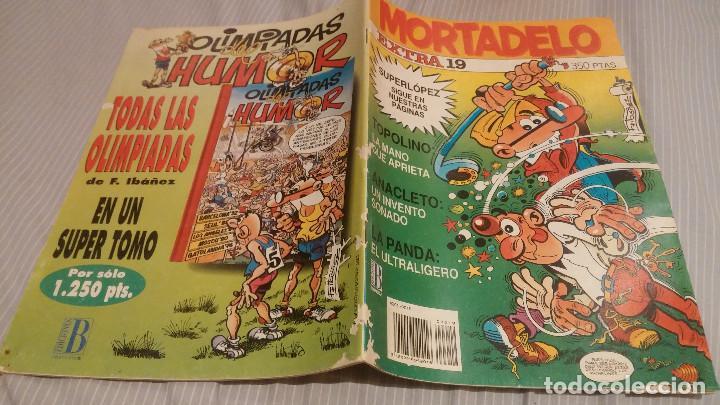 MORTADELO - EXTRA Nº 19 - EDICIONES B (Tebeos y Comics - Ediciones B - Clásicos Españoles)