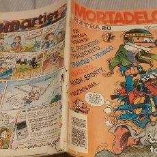 Cómics: MORTADELO EXTRA . NUMERO 20. EDICIONES B. Lote 134274314