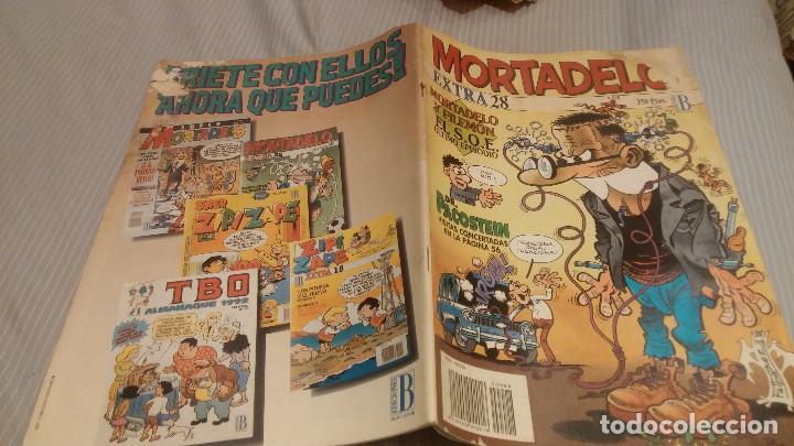 MORTADELO EXTRA . NUMERO 28. EDICIONES B (Tebeos y Comics - Ediciones B - Clásicos Españoles)