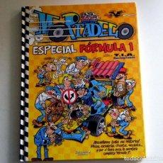 Cómics: MORTADELO ESPECIAL FÓRMULA 1 - CÓMIC MUNDO DE LA F1 DEPORTE HUMOR CON FILEMÓN EL SUPER Y OFELIA ED B. Lote 134305550