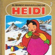Cómics: EL MUNDO MARAVILLOSO DE HEIDI Nº 2. ACCIDENTE. EL SECRETO DE HEIDI. EDICIONES B. Lote 134329158