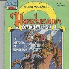 Cómics: HAWKMOON FIRST COMICS EDICIONES B Nº 4. Lote 134743250