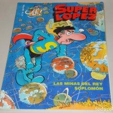 Cómics - Comic Super Lopez - Coleccion Ole, nº 32: Las minas del rey Soplomon - 134877590