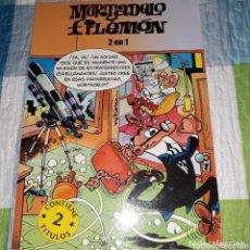 Cómics: COMIC MORTADELO Y FILEMON 2 EN 1. Lote 135312626