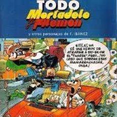 Cómics: COMIC TODO MORTADELO Y FILEMON Y OTROS PERSONAJES DE IBAÑEZ Nº8. Lote 135314082