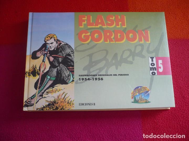 FLASH GORDON TOMO 5 1954-1956 ( DAN BARRY ) ¡MUY BUEN ESTADO! EDICIONES B TAPA DURA (Tebeos y Comics - Ediciones B - Otros)