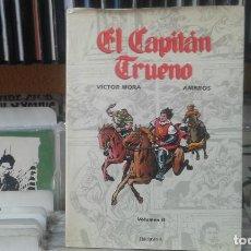 Cómics: EL CAPITÁN TRUENO VOLUMEN II - VÍCTOR MORA / AMBRÓS - EDICIONES B. Lote 136183086