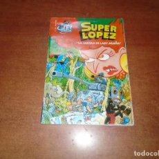 Cómics: SUPER LÓPEZ COL. OLÉ Nº 35 LA GUERRA DE LADY ARAÑA. Lote 136232410