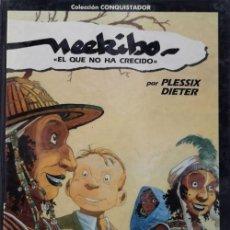 Cómics: NEEKIBO EL QUE NO HA CRECIDO - PLESSIX DIETER - ALBUM TAPA DURA EDICIONES B DRAGON COMICS Nº 1. Lote 136464850