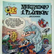 Cómics: MORTADELO Y FILEMÓN. ¡BROOMMM!. OLÉ Nº 197. EDICIONES B. ESPAÑA 2014.. Lote 137213638