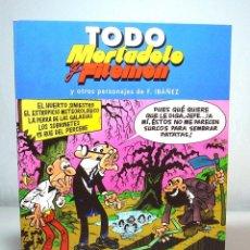 Cómics: TODO MORTADELO Y FILEMÓN, Nº 31 (EDICIÓN DE 2005), DE FRANCISCO IBÁÑEZ, EDICIONES B.. Lote 137248170