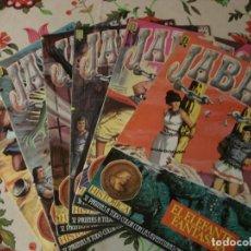 Cómics: 6 TEBEOS JABATO Nº: 30,34,72,76,77 Y 83 EDICION HISTORICA. Lote 137250446