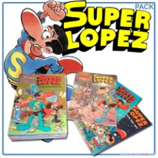 Cómics: PACK SUPERLÓPEZ. 11 CÓMICS - JAN DESCATALOGADO!!! OFERTA!!!. Lote 137303858