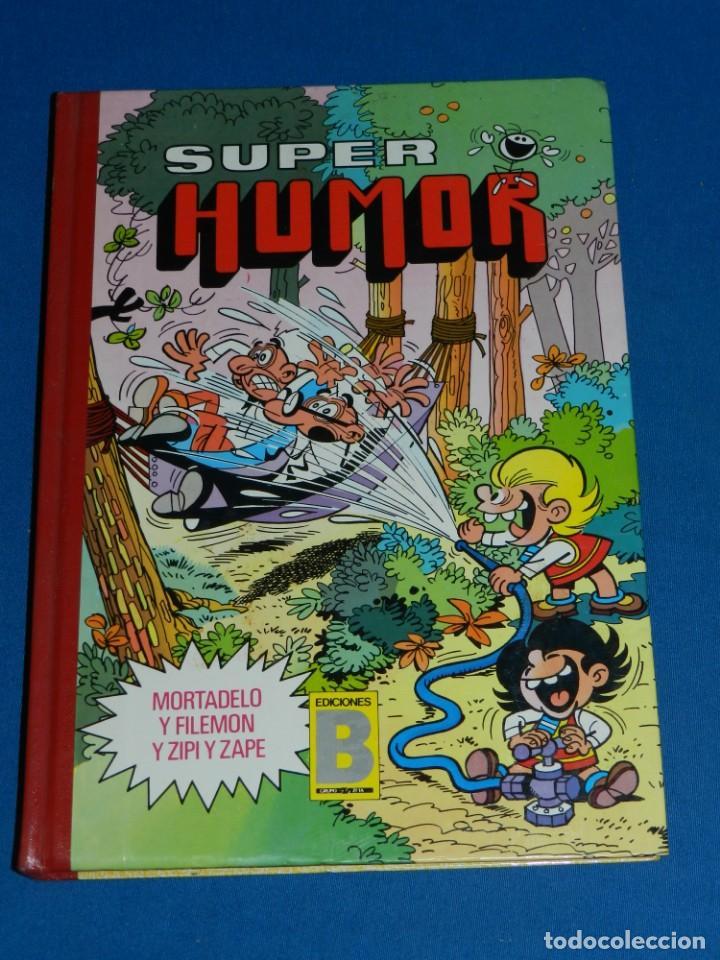 (M11) SUPER HUMOR NUM 14 EDICIONES B 1987 , POCAS SEÑALES DE USO (Tebeos y Comics - Ediciones B - Humor)