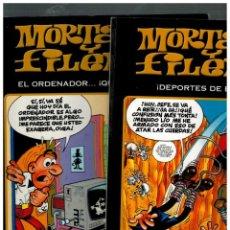 Cómics: MORTADELO Y FILEMÓN- DEPORTES DE ESPANTO Y EL ORDENADOR...QUÉ HORROR!.1ª EDICIÓN,2011.. Lote 137346262