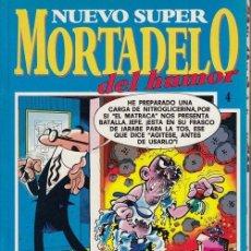 Cómics: NUEVO SUPER MORTADELO DEL HUMOR - TOMO Nº 4 EDICIONES B. Lote 137347390