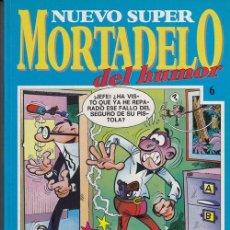 Cómics: NUEVO SUPER MORTADELO DEL HUMOR - TOMO Nº 6 EDICIONES B. Lote 137347474