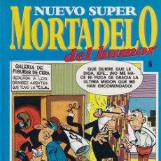 Cómics: NUEVO SUPER MORTADELO DEL HUMOR - TOMO Nº 8 EDICIONES B. Lote 137347610