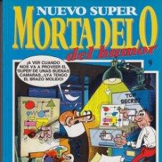 Cómics: NUEVO SUPER MORTADELO DEL HUMOR - TOMO Nº 9 EDICIONES B. Lote 137347650