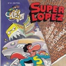 Cómics: COLECCION OLE - SUPER LOPEZ Nº 24 - EDICIONES B. Lote 137348150