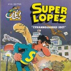 Cómics: COLECCION OLE - SUPER LOPEZ Nº 25 - EDICIONES B. Lote 137348438