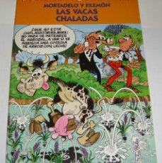 Cómics: MORTADELO Y FILEMÓN. LAS VACAS CHALADAS. FRANCISCO IBAÑEZ Y OLÉ!. Lote 137504654