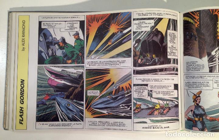 Comics: FLASH GORDON, EDICIÓN HISTÓRICA. 12 primerosNÚMEROS ENCUADERNADOS. 1988 Alex Raymond - Foto 2 - 137587150