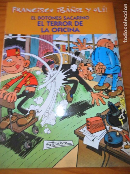 EL BOTONES SACARINO, EL TERROR DE LA OFICINA - FRANCISCO IBAÑEZ Y OLE!, EDICIONES B - (Tebeos y Comics - Ediciones B - Humor)