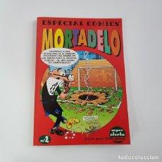Cómics: ESPECIAL COMICS MORTADELO Nº 2,EDICIONES B,VOLUMEN CON 3 EXTRAS RETAPADOS,BUEN ESTADO. Lote 137845158