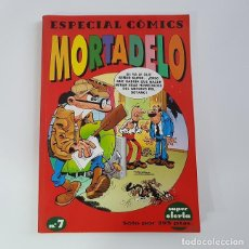 Cómics: ESPECIAL COMICS MORTADELO Nº 7,EDICIONES B,VOLUMEN CON 3 EXTRAS RETAPADOS,BUEN ESTADO. Lote 137845790