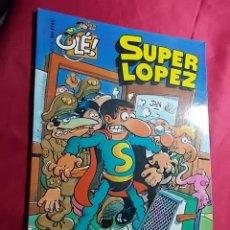 Cómics: COLECCION OLE. SUPERLOPEZ. Nº 4. LOS ALIENÍGENAS. EDICIONES B.1ª EDICIÓN 1997. RELIEVE. Lote 138080334