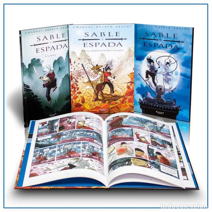 PACK SABLE Y ESPADA. 3 CÓMICS - VARIOS AUTORES (CARTONÉ) DESCATALOGADO!!! OFERTA!!! (Tebeos y Comics - Ediciones B - Otros)