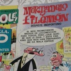 Cómics: OLE MORTADELO Y FILEMON. Lote 138624982