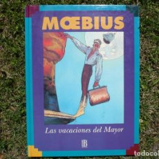 Cómics: LAS VACACIONES DEL MAYOR FATAL. MOEBIUS. EDICIONES B, 1996.. Lote 138740234